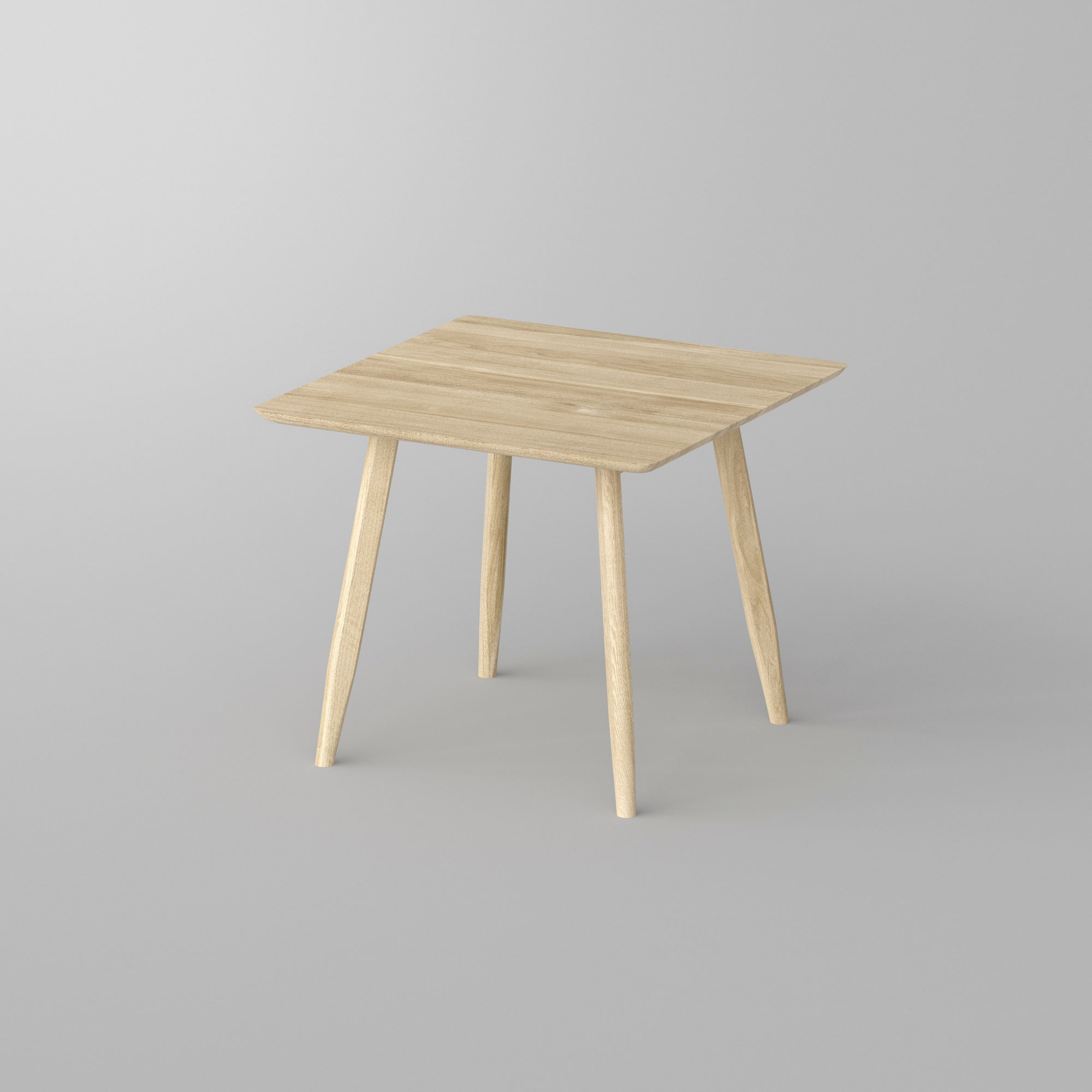 Designer Dining Table Wood AETAS BASIC 3 custom made in solid wood by vitamin design