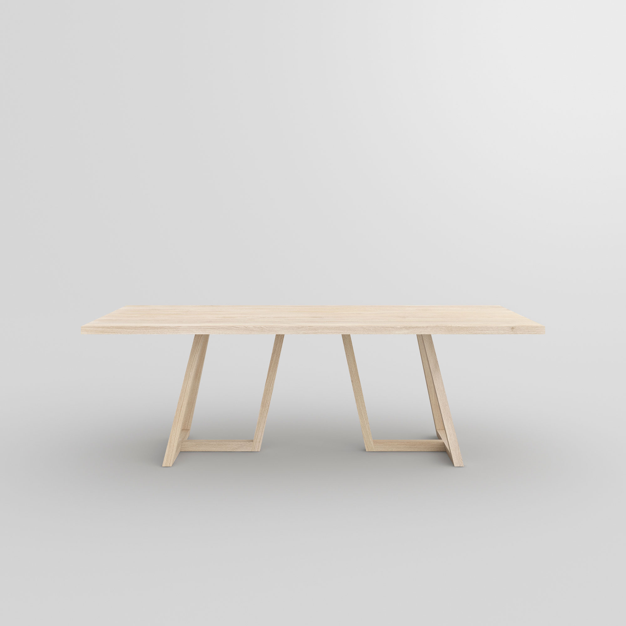 Designer Solid Wood Table MARGO custom made in solid wood by vitamin design